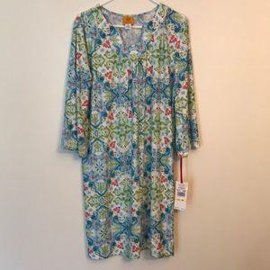 Ruby Rd shift dress size M NWT
